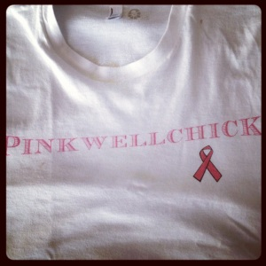 image of pinkwellchick t-shirt
