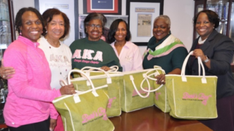 AKA OMEGA OMEGA Chapter Bag It!